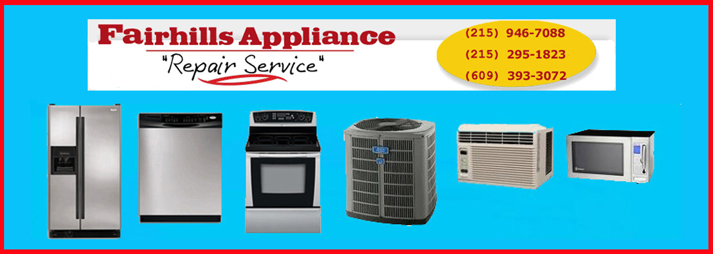 fairhills appliance repair service header